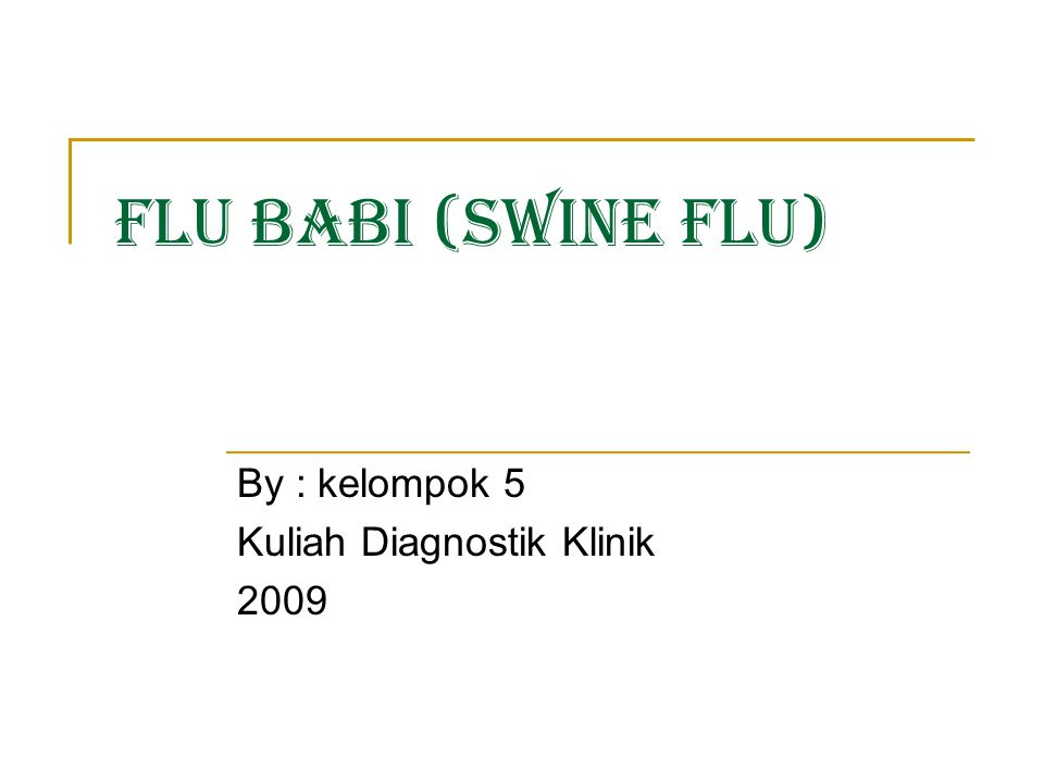 By : kelompok 5 Kuliah Diagnostik Klinik 2009