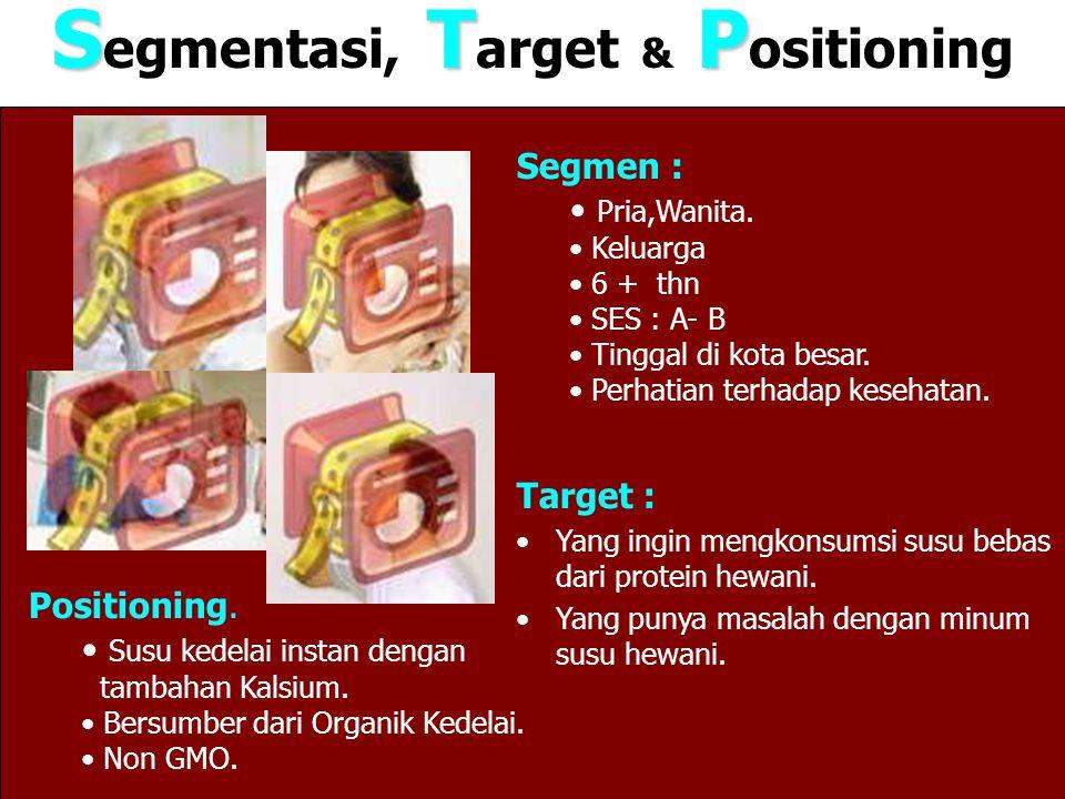 Segmentasi, Target & Positioning