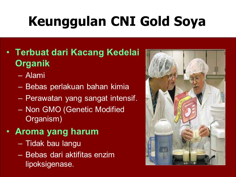 Keunggulan CNI Gold Soya