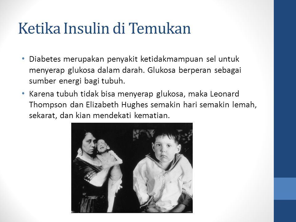 Ketika Insulin di Temukan
