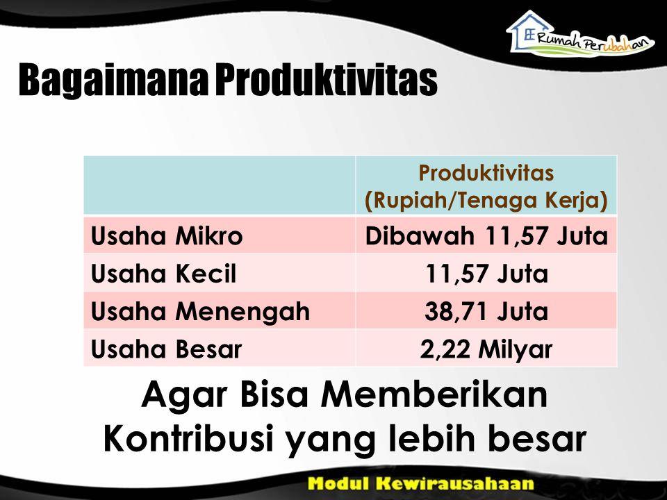 Bagaimana Produktivitas