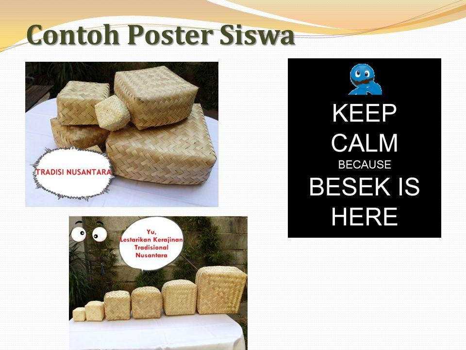 Contoh Poster Siswa