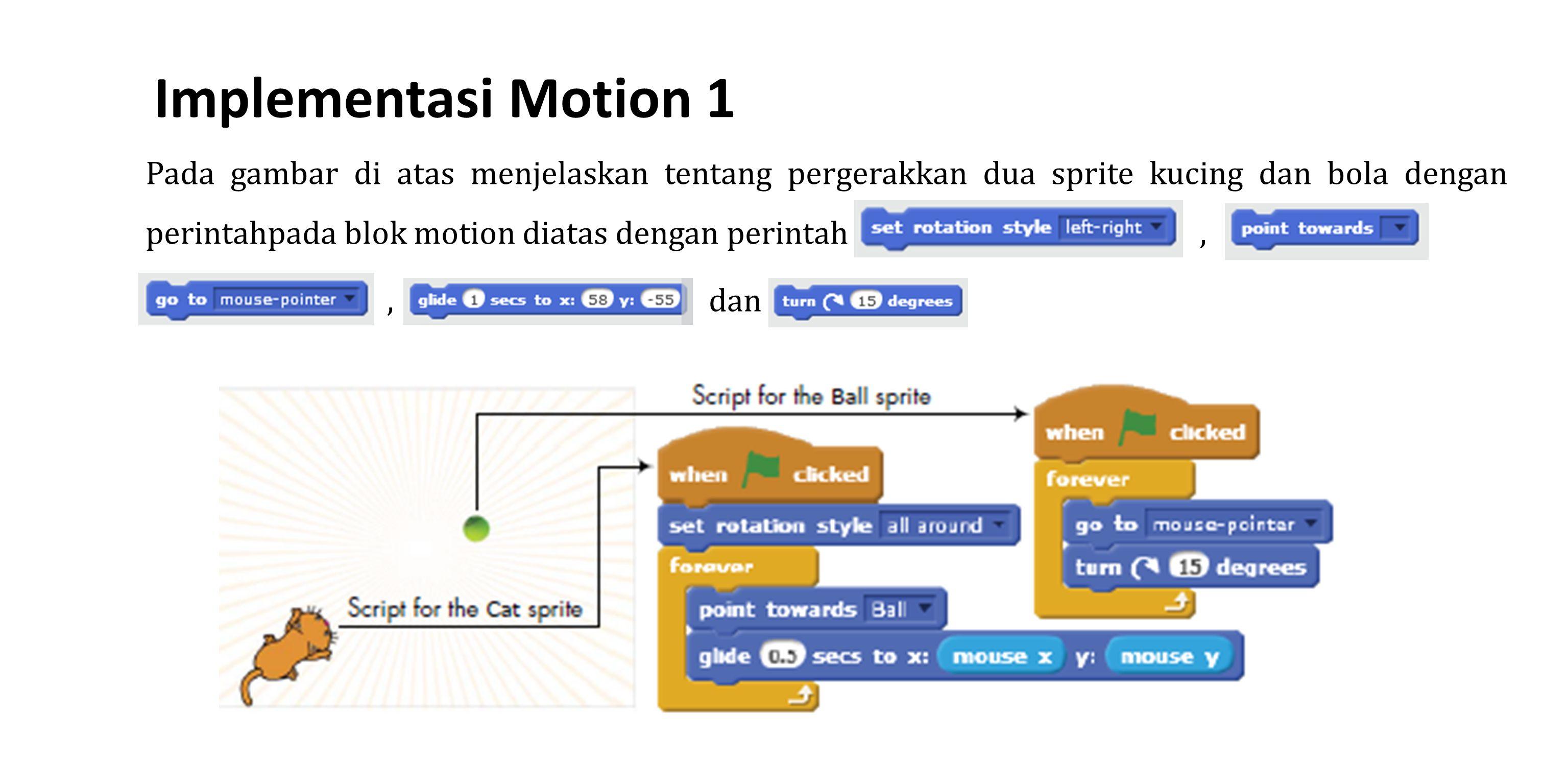 Implementasi Motion 1