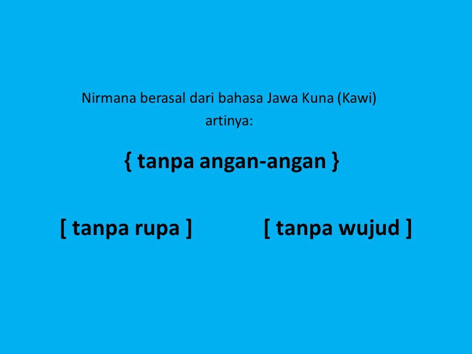 Nirmana berasal dari bahasa Jawa Kuna (Kawi)