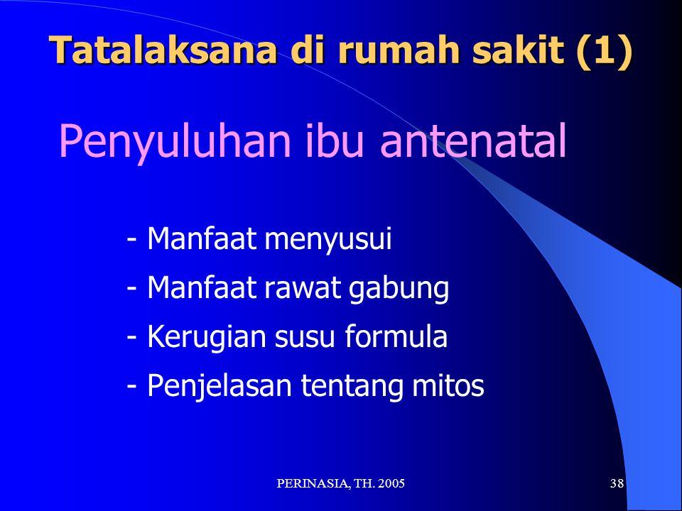 Tatalaksana di rumah sakit (1)