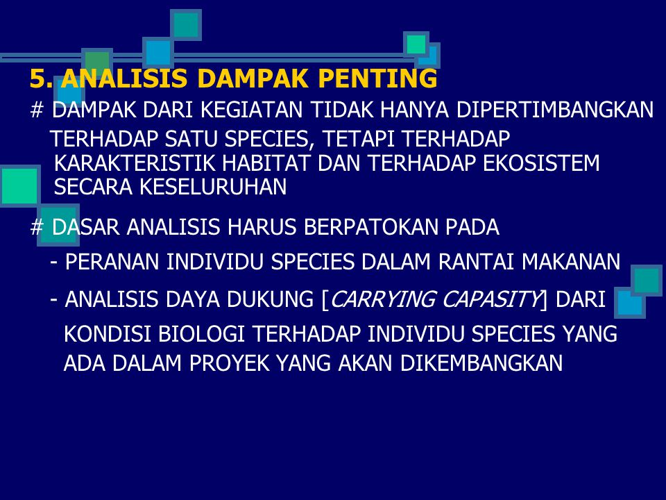 5. ANALISIS DAMPAK PENTING