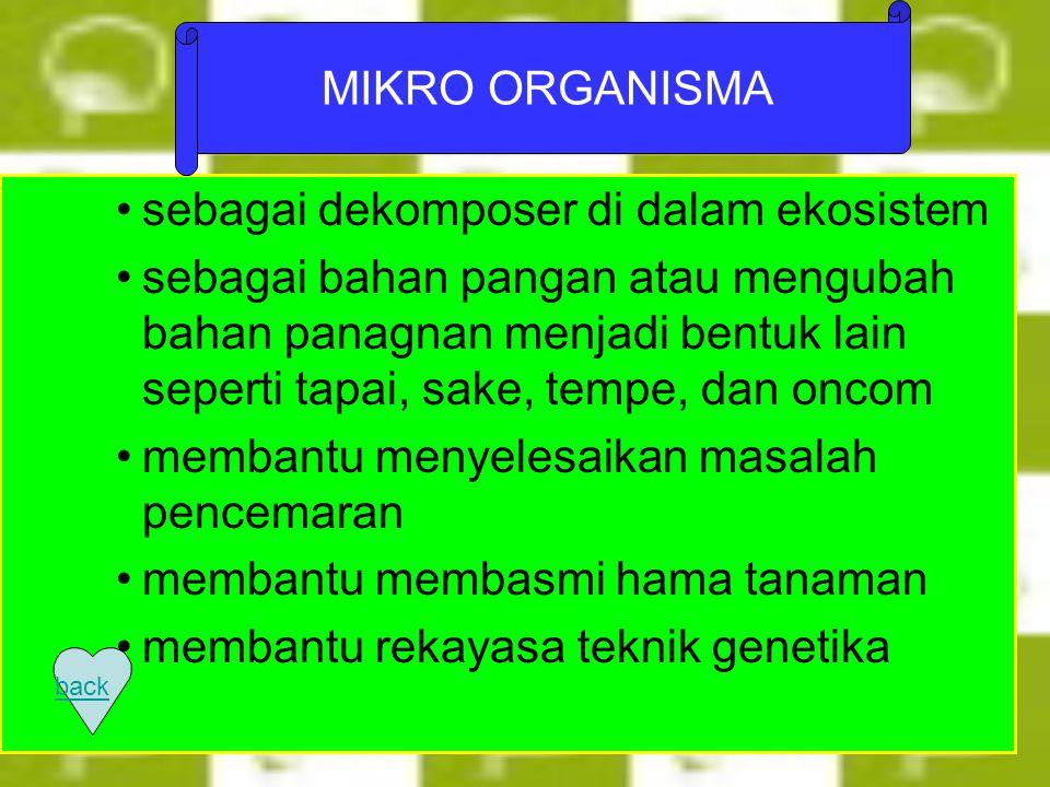 Sumber Daya Mikrob MIKRO ORGANISMA