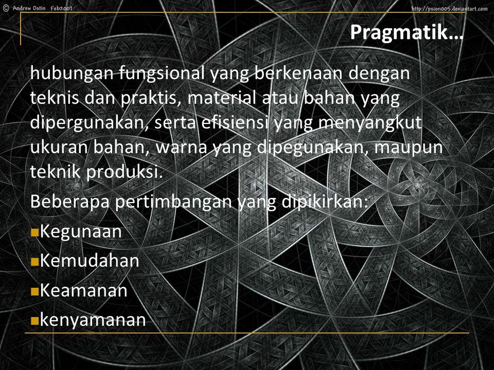 Pragmatik…