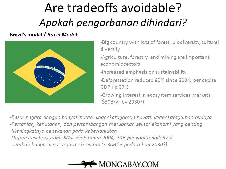 Are tradeoffs avoidable Apakah pengorbanan dihindari