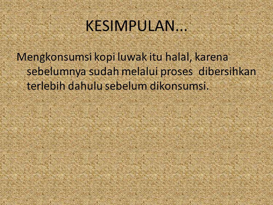 KESIMPULAN...