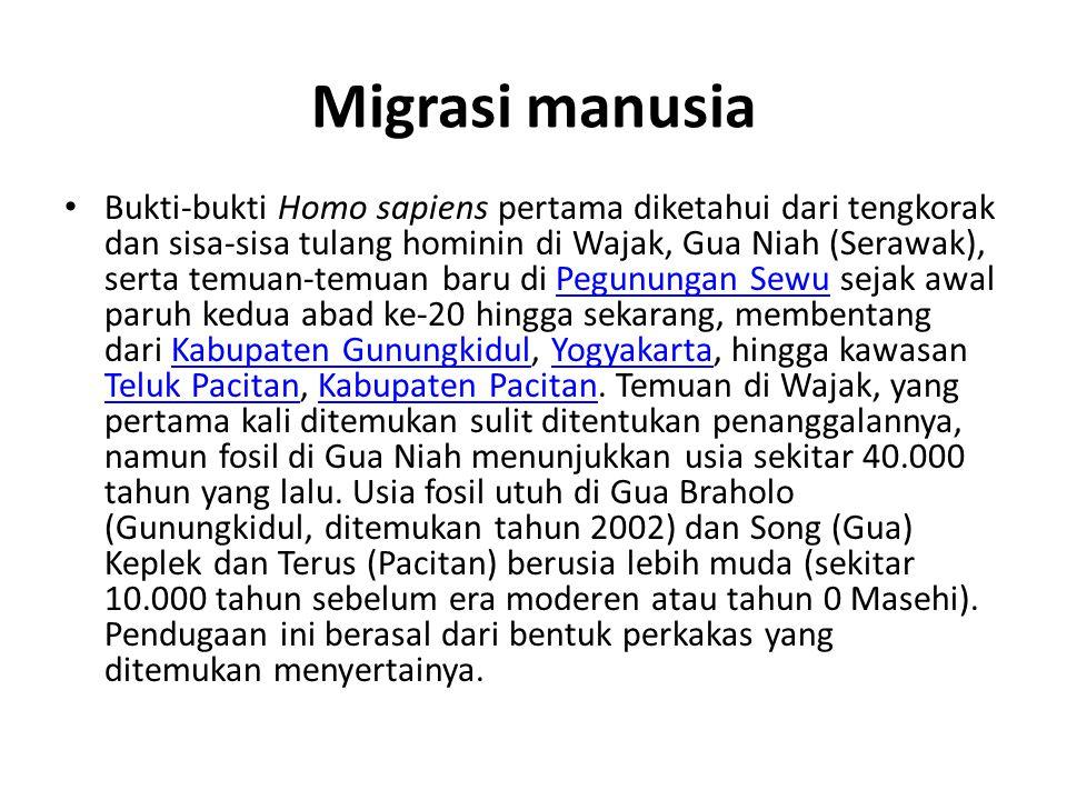 Migrasi manusia