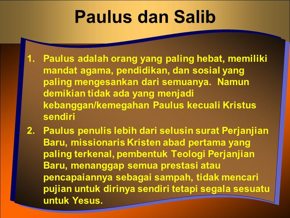 Paulus dan Salib