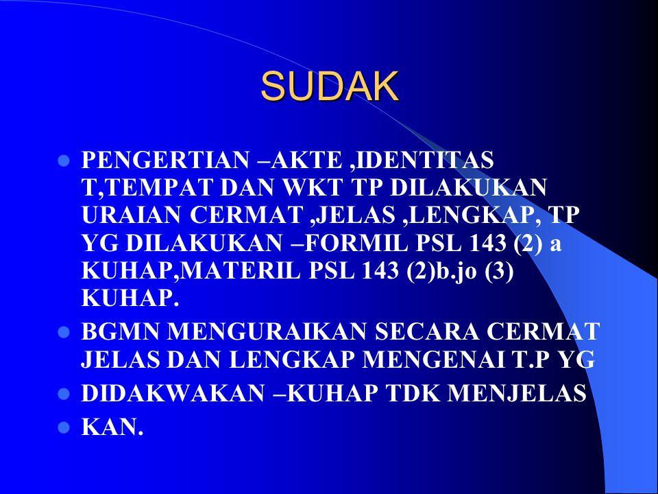 SUDAK