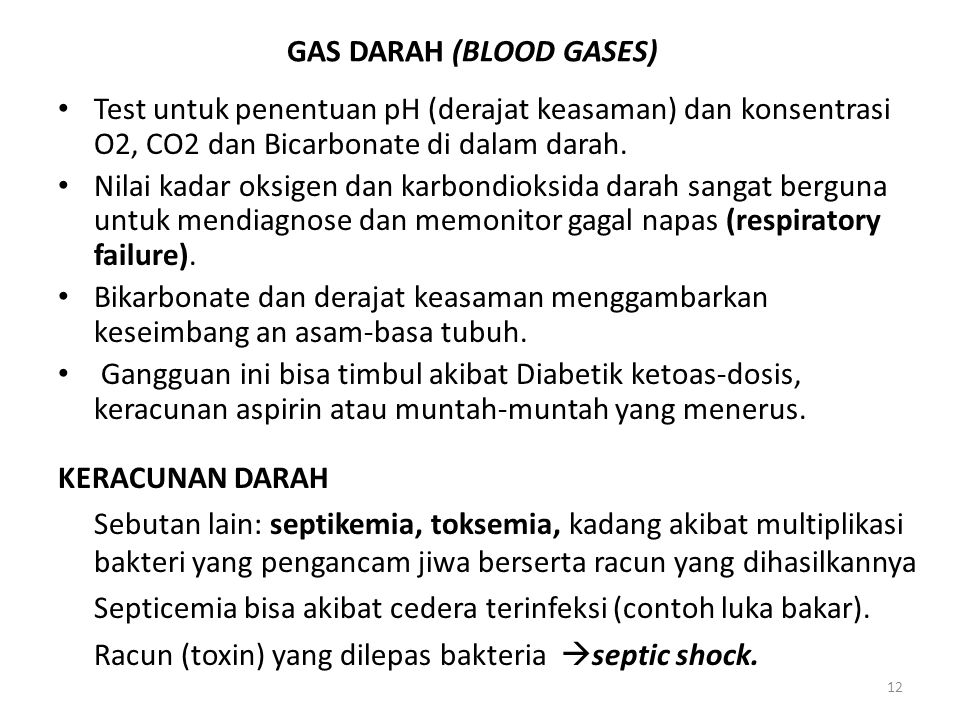 GAS DARAH (BLOOD GASES)