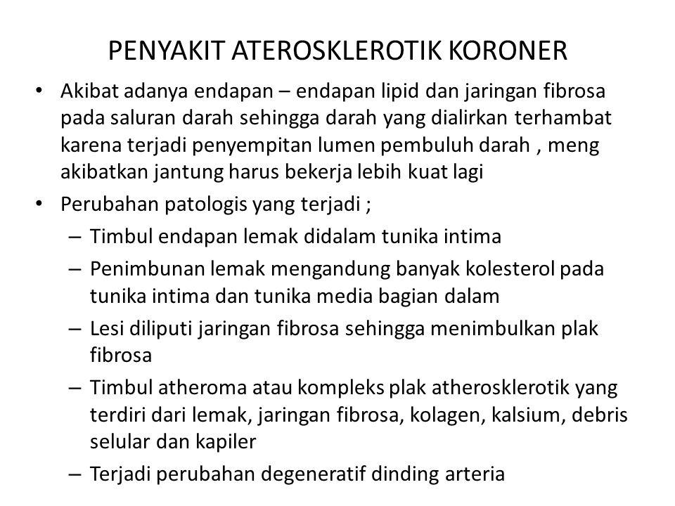 PENYAKIT ATEROSKLEROTIK KORONER