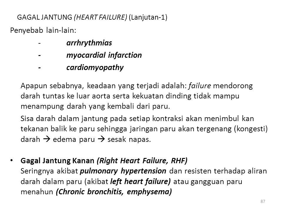 GAGAL JANTUNG (HEART FAILURE) (Lanjutan-1)
