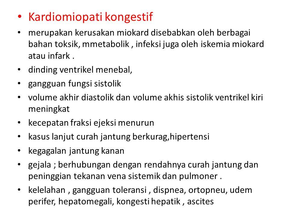Kardiomiopati kongestif