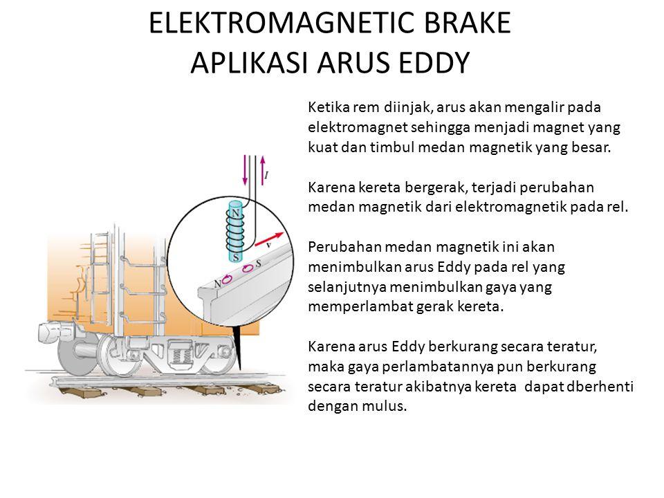 ELEKTROMAGNETIC BRAKE APLIKASI ARUS EDDY