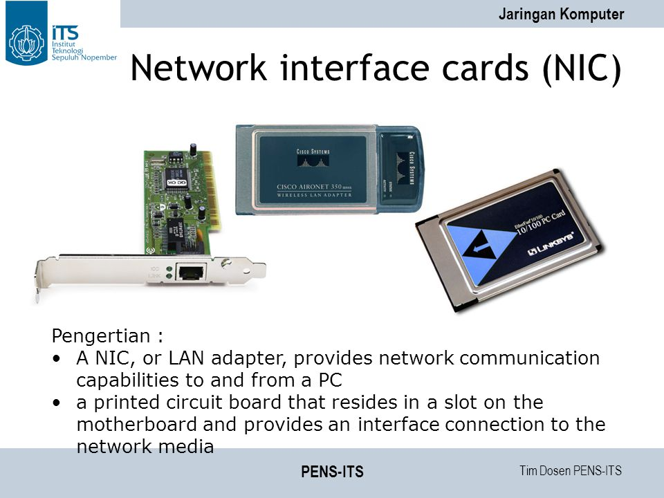 Network interface cards (NIC)