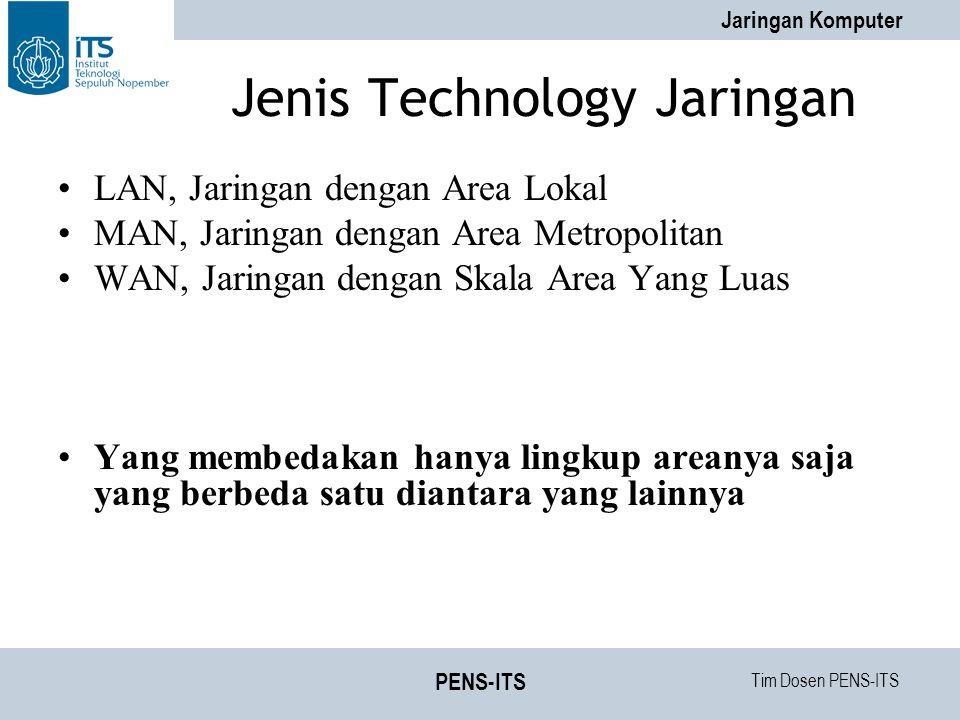 Jenis Technology Jaringan