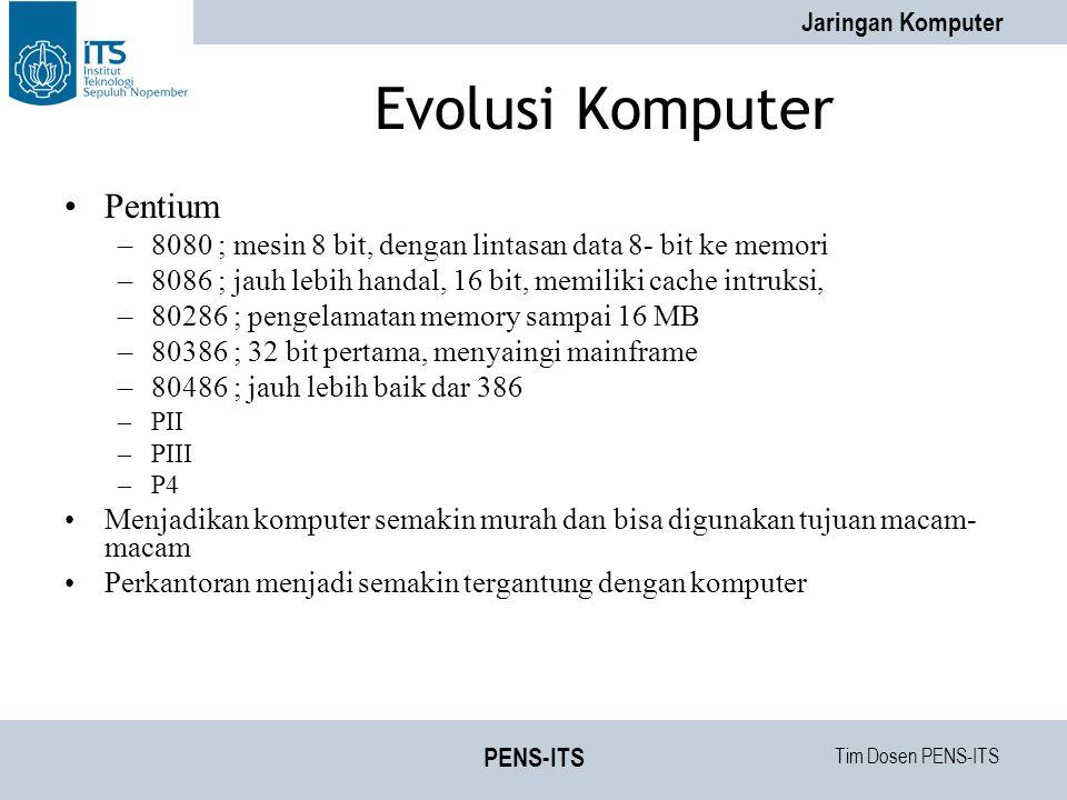 Evolusi Komputer Pentium