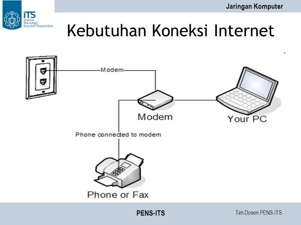 Kebutuhan Koneksi Internet