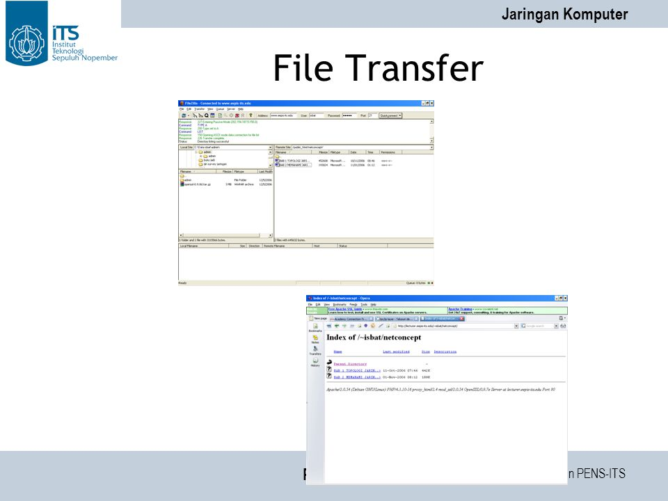 File Transfer PENS-ITS