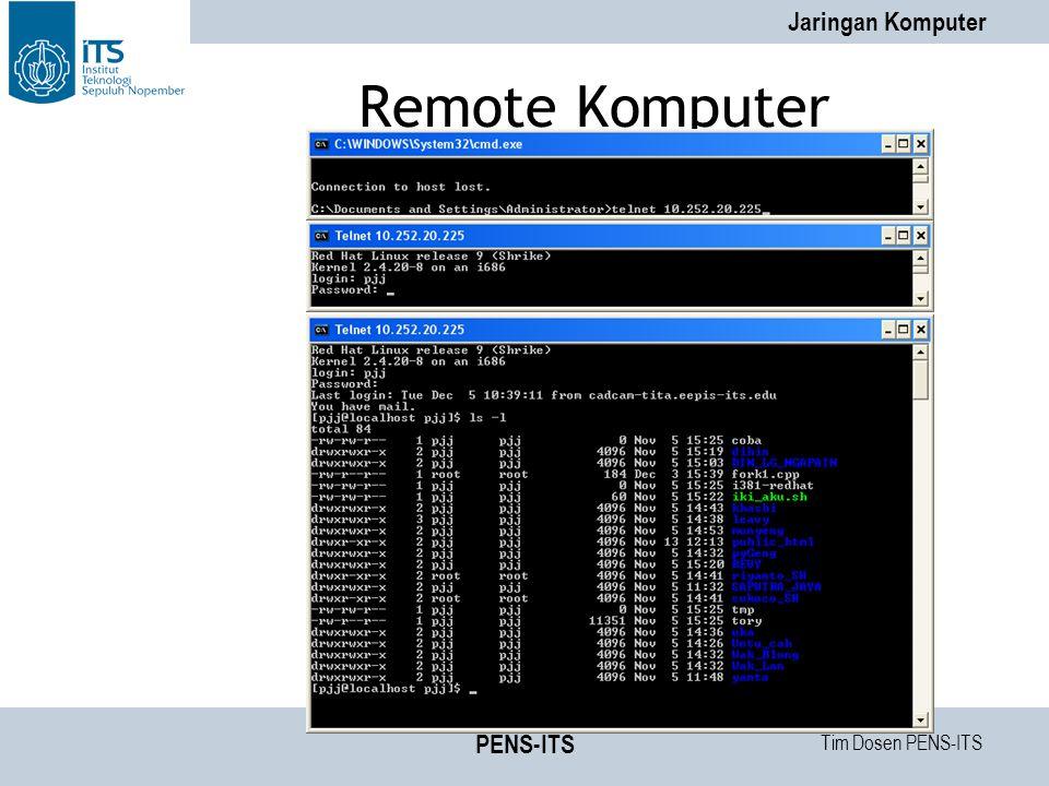 Remote Komputer PENS-ITS