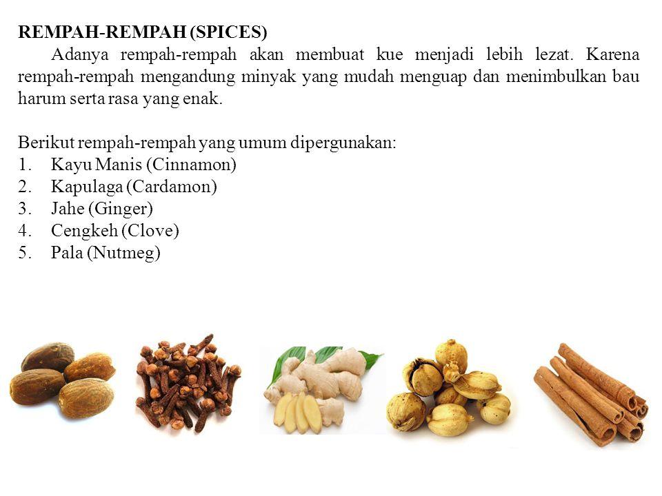 REMPAH-REMPAH (SPICES)