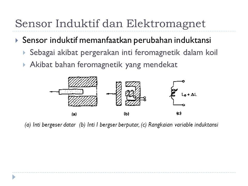 Sensor Induktif dan Elektromagnet