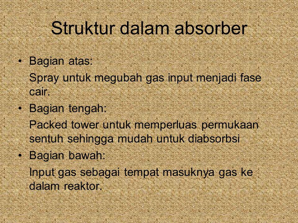 Struktur dalam absorber