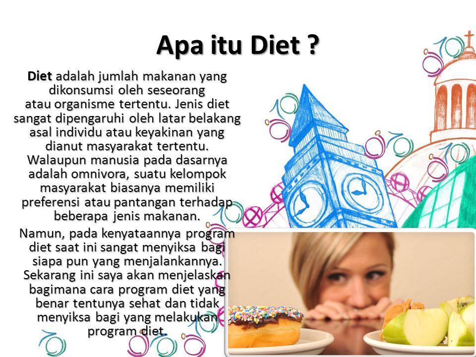 Apa itu Diet