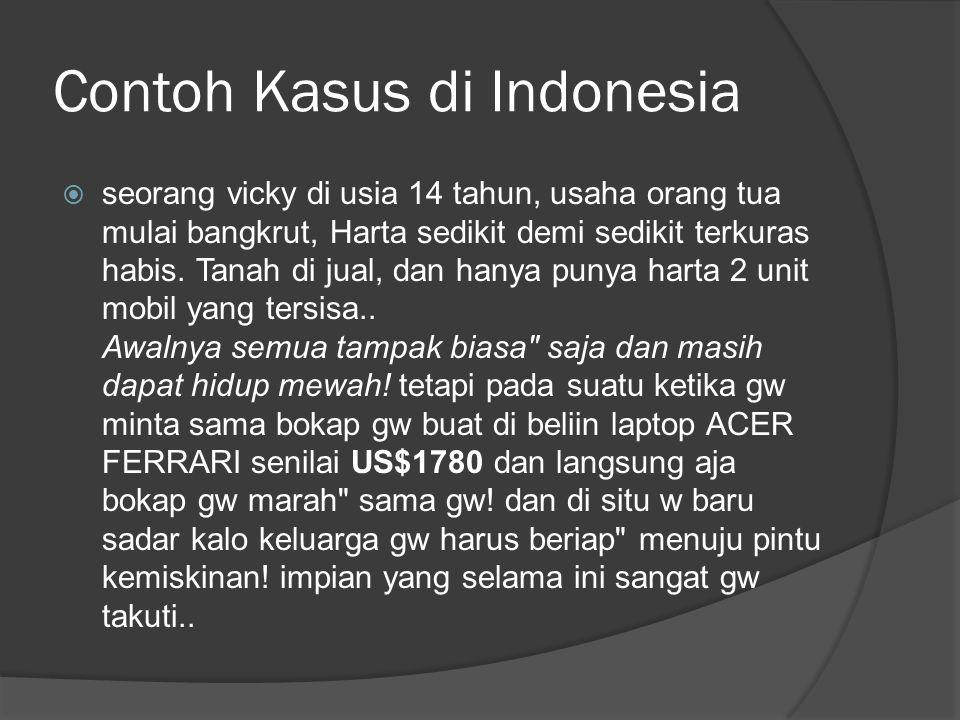 Contoh Kasus di Indonesia