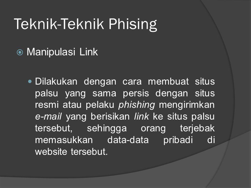 Teknik-Teknik Phising