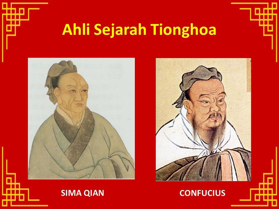 Ahli Sejarah Tionghoa SIMA QIAN CONFUCIUS