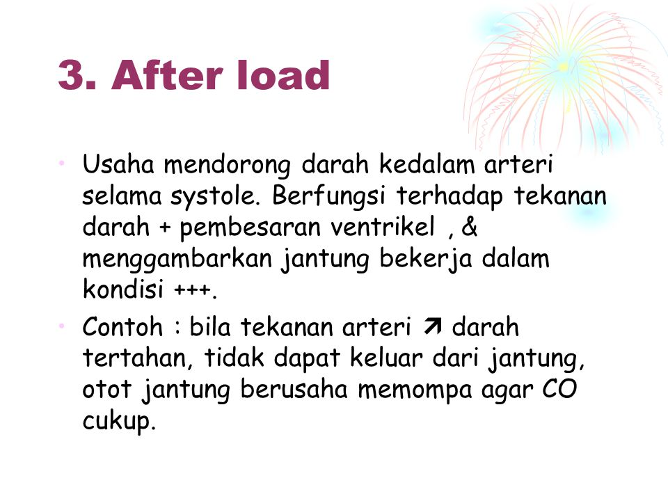 3. After load