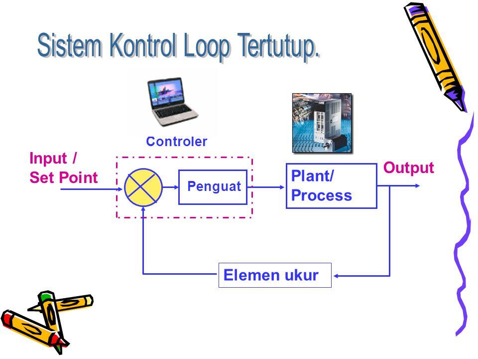 Sistem Kontrol Loop Tertutup.