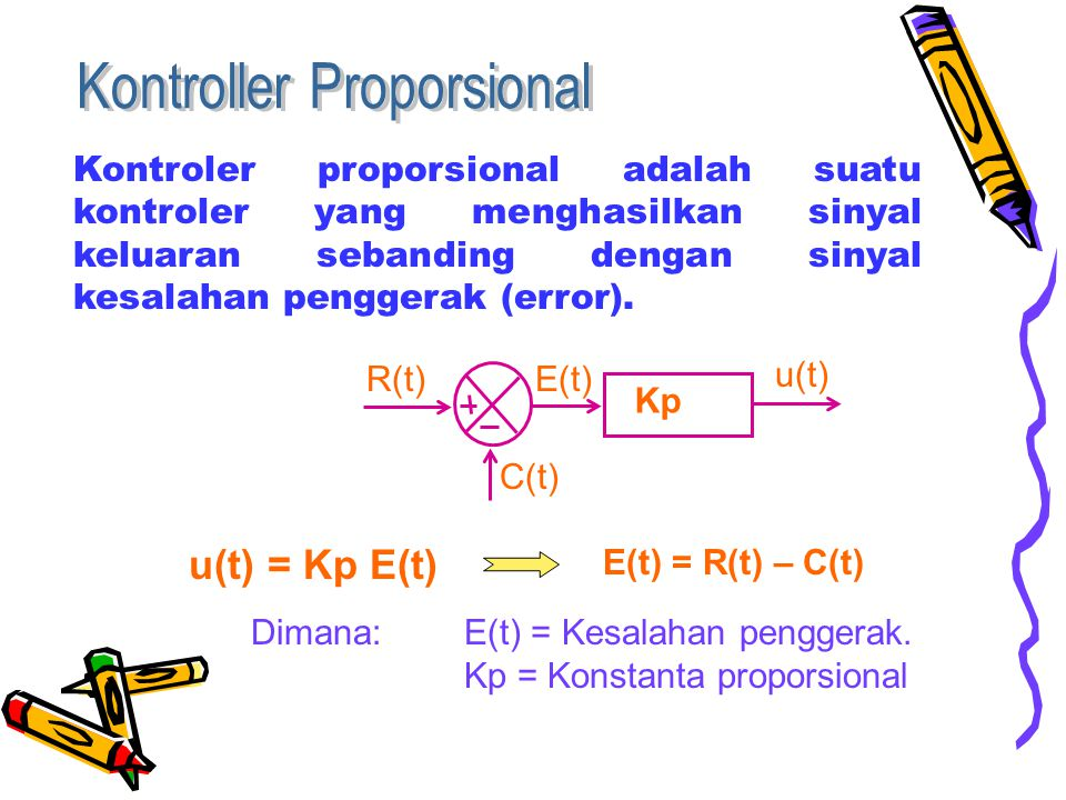 Kontroller Proporsional