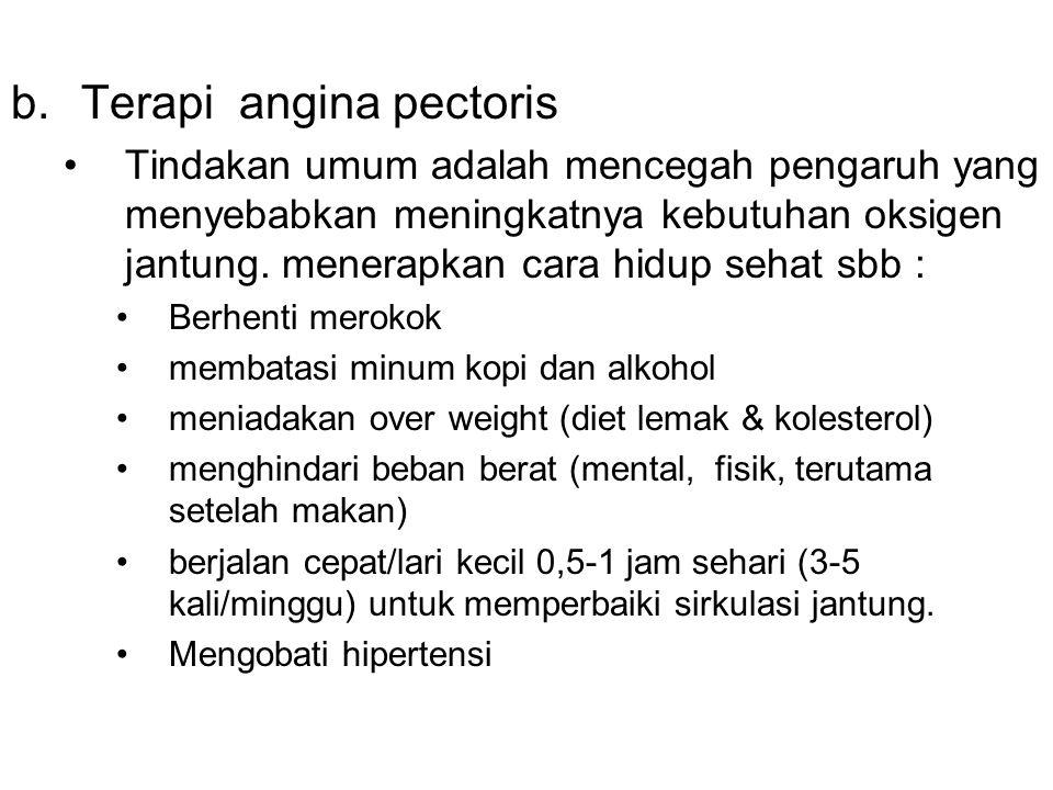 Terapi angina pectoris