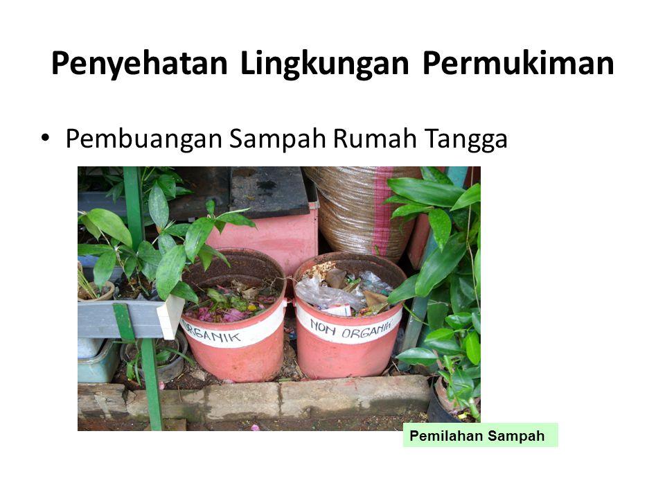 Penyehatan Lingkungan Permukiman