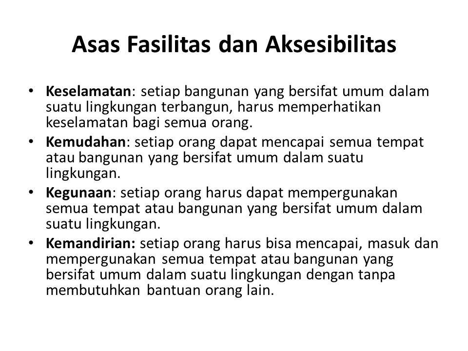 Asas Fasilitas dan Aksesibilitas