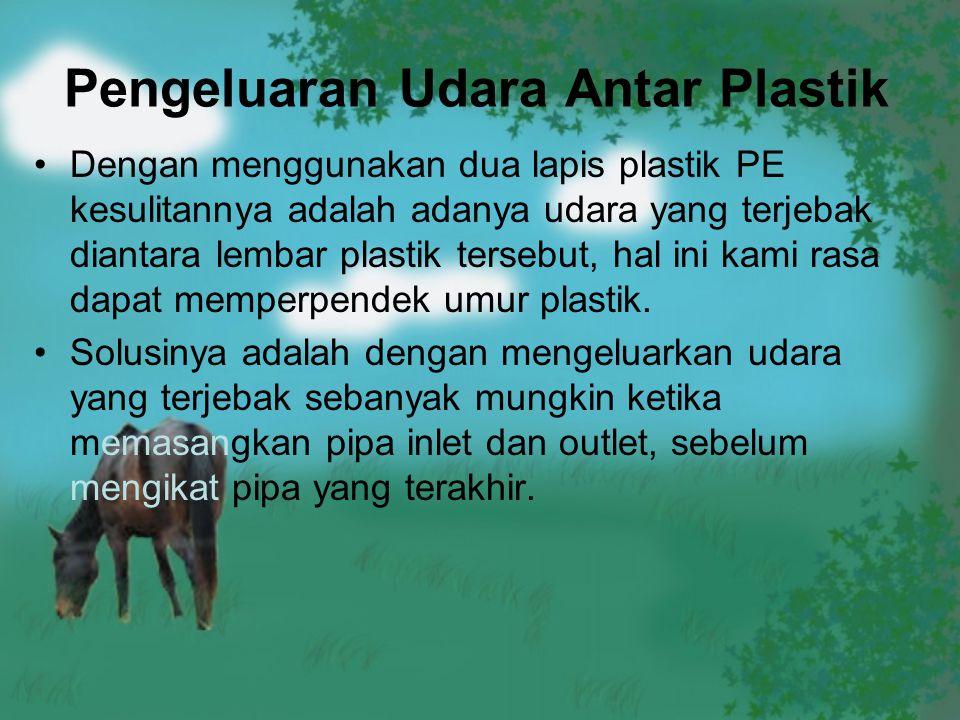 Pengeluaran Udara Antar Plastik