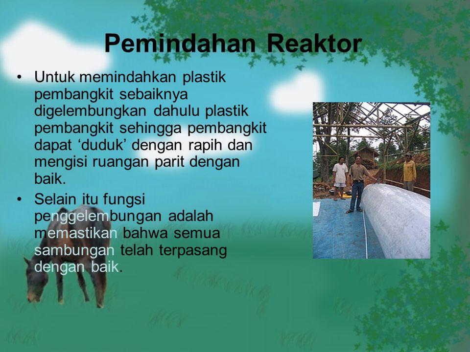 Pemindahan Reaktor