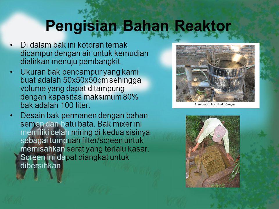 Pengisian Bahan Reaktor