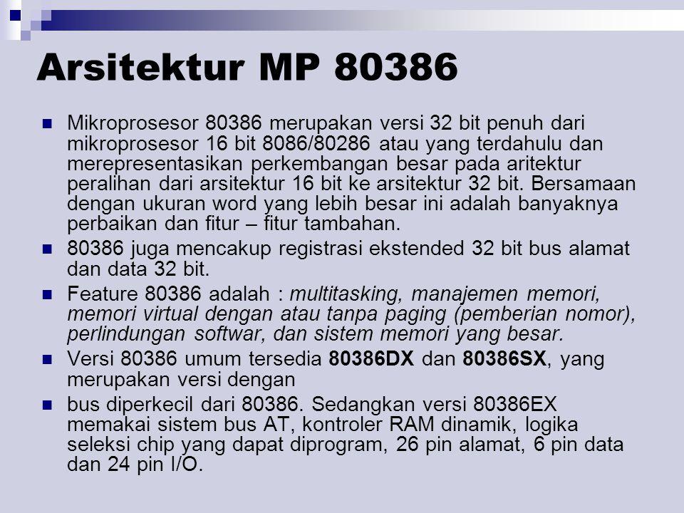 Arsitektur MP 80386