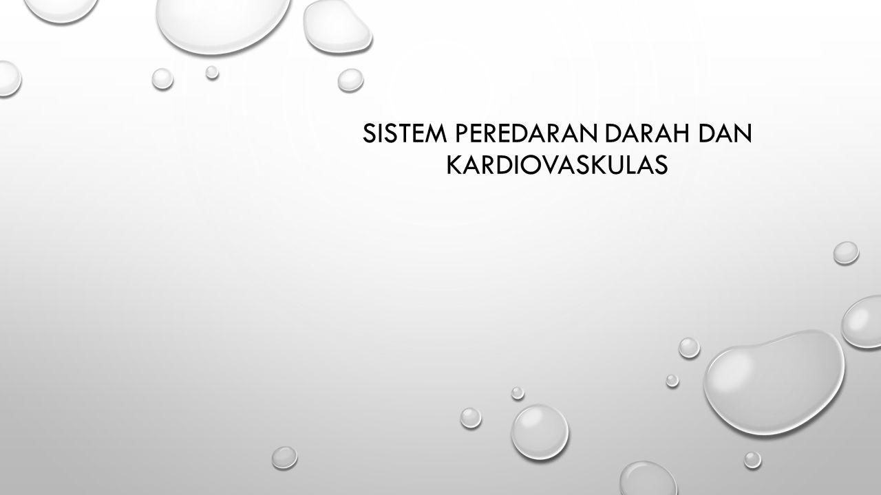SISTEM PEREDARAN DARAH dan KARDIOVASKULAS