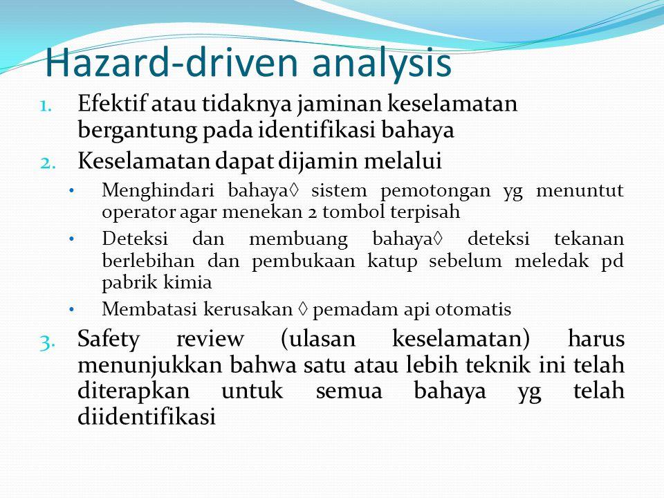 Hazard-driven analysis