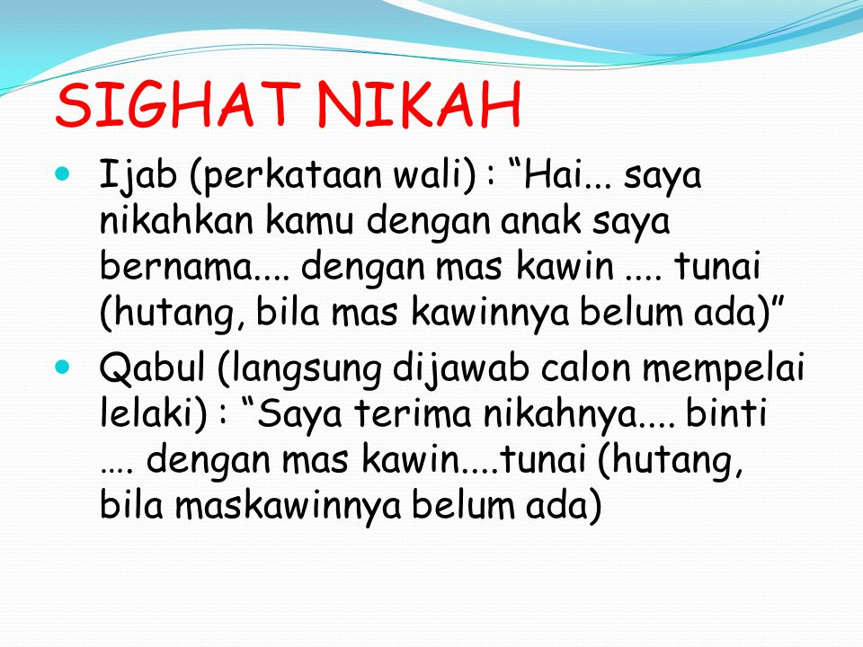 SIGHAT NIKAH