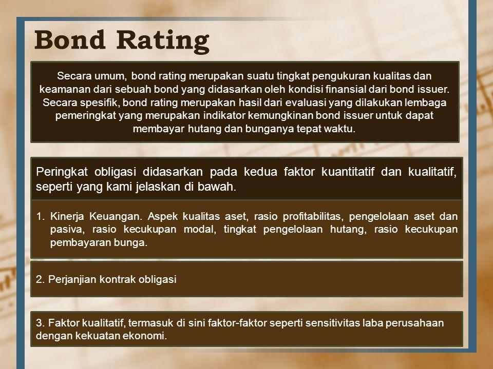 Bond Rating