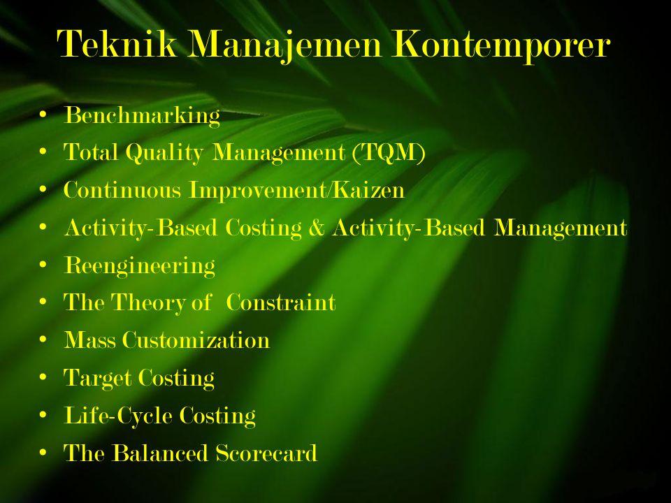 Teknik Manajemen Kontemporer